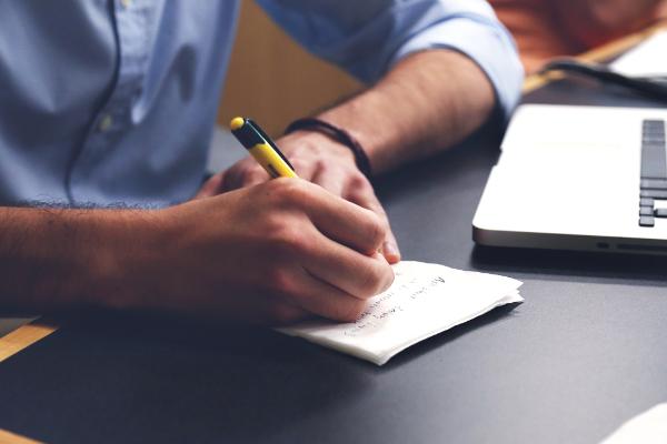 Kundengewinnung mit dem Unternehmer Sachbuch - Manuskriptarbeit